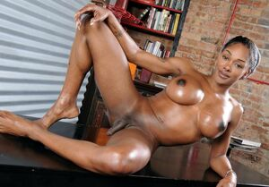 black naked women