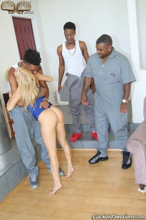 black on blondes cuckold