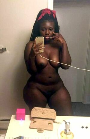 fat black girls naked