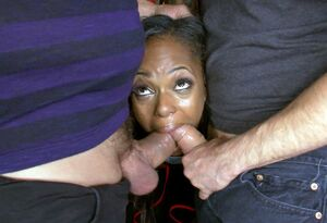 big black dick double penetration