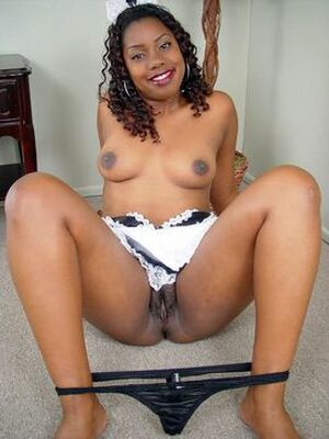 ebony black naked women