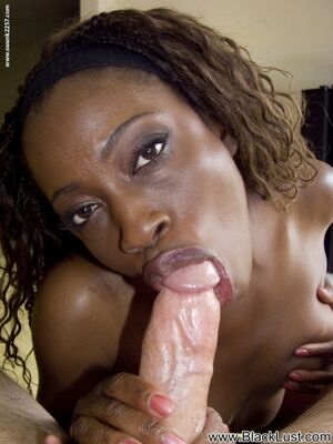hot ebony blowjob