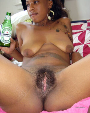 very hairy black pussy